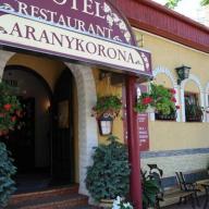 Aranykorona Hotel-Étterem & Sétálópince