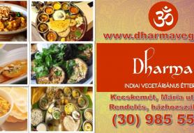 Dharma - Indiai Vegetáriánus Étterem
