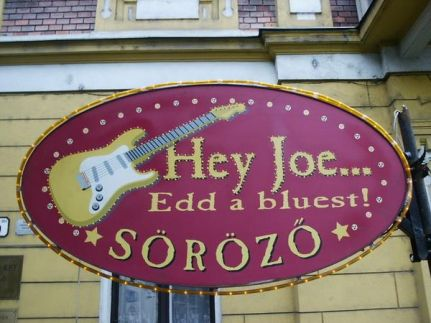 Hey Joe Blues Bár8